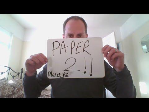 GCSE PE Paper 2 Last Minute Revision Live!!!