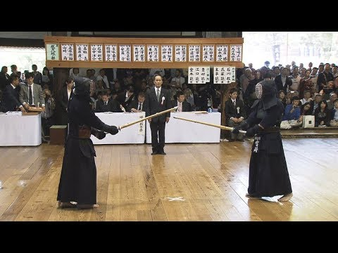 Kendo 8th Dan Examination①