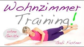 🏠 30 min. Figur-Training ohne Hilfsmittel