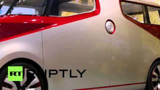 Japan: Suzuki launches the Air Triser MPV - a 'relaxation mode' concept car