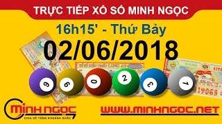 Trực tiếp xổ số MINH NGỌC T7 Ngày 02-06-2018 - Kênh Youtube chính thức từ Minhngoc.net.vn