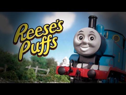 Thomas the Tank Engine - Reese's Puffs Rap Version