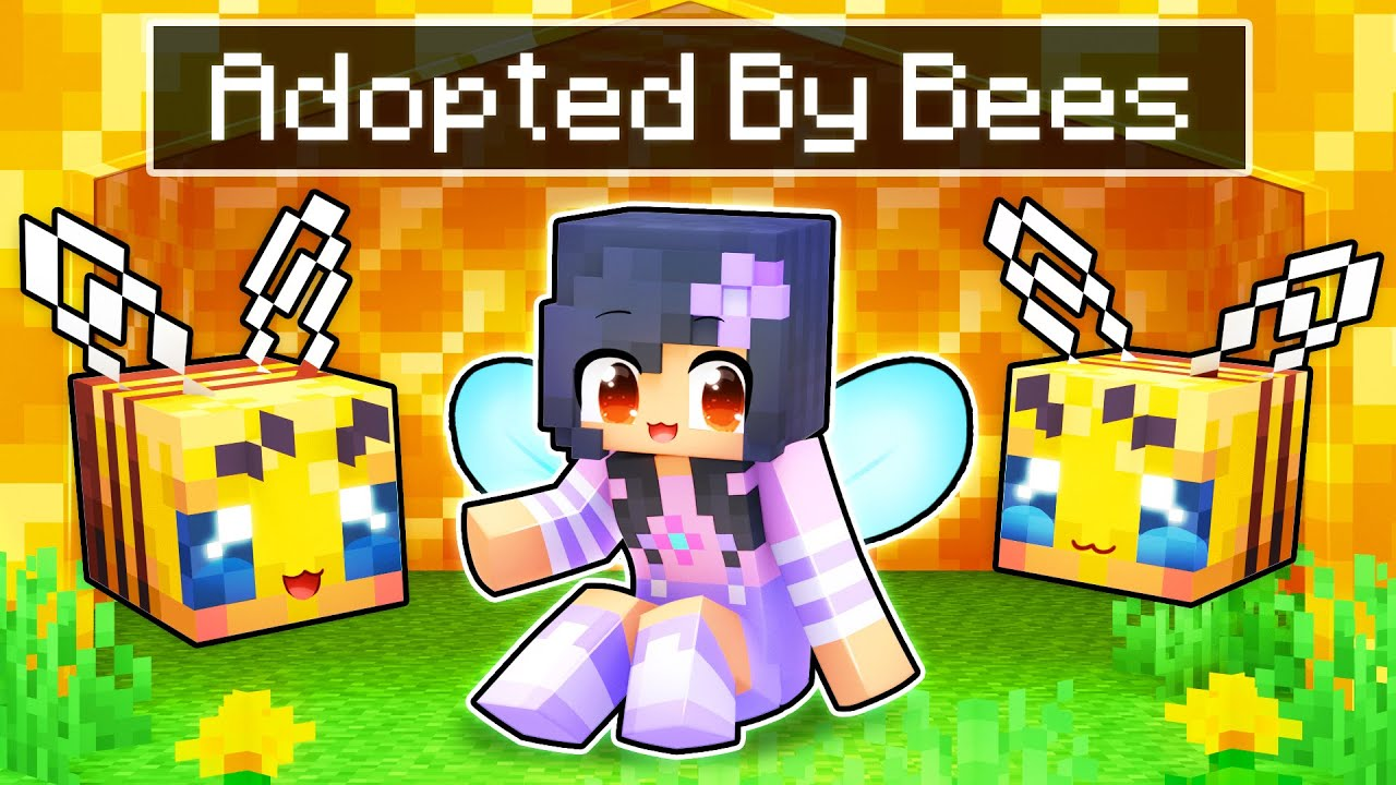 Download Adopted By CUTE BEES In Minecraft!