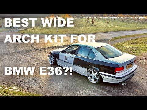 BMW E36 OVERFENDERS INSTALL