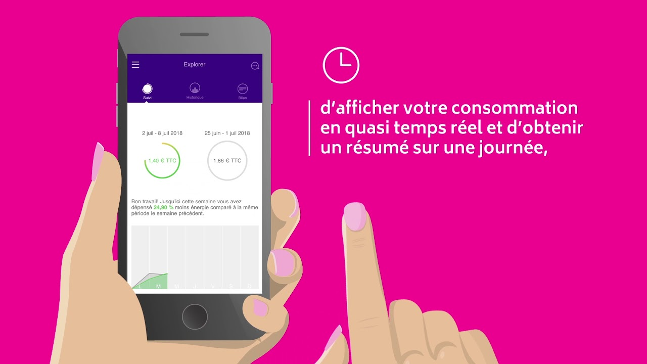 Application de branchement en temps réel