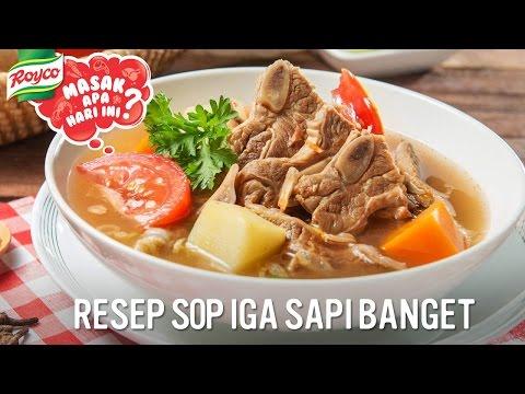 Membuat Resep Sup Iga...
