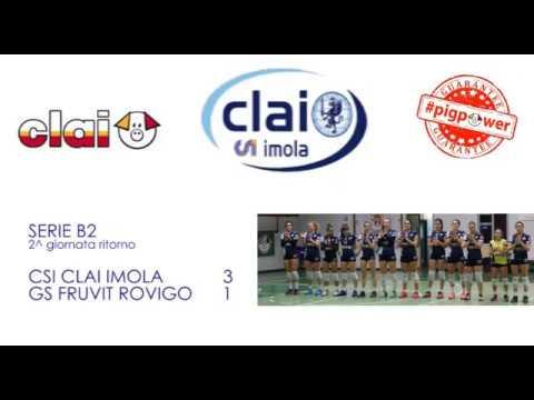 Csi Clai Imola-GS Fruvit Rovigo 3-1 (10/02/2019)