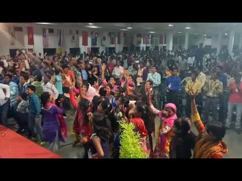 Praise and worship by sunny Charan in mission India campus Nagpur