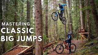 Helping a Pro Rider to Master Scary Big Jumps in Squamish, BC