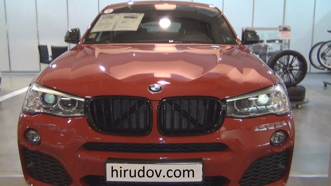 bmw x4 xdrive 20d m paket 2015 exterior and interior in. Black Bedroom Furniture Sets. Home Design Ideas