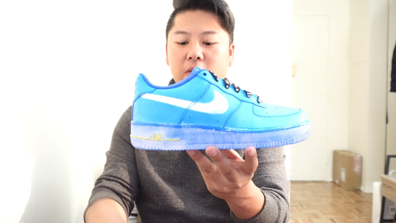 4acb289def01 REVIEW  Custom Deconstructed Nike Air Force 1s   Make Your Mark Event
