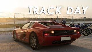 Track Day con una Ferrari Testarossa - Autodromo di Binetto VLOG (ENG SUBS)