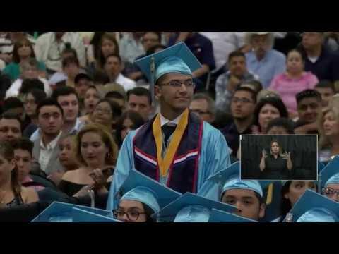 McAllen Memorial High School Graduation 2018