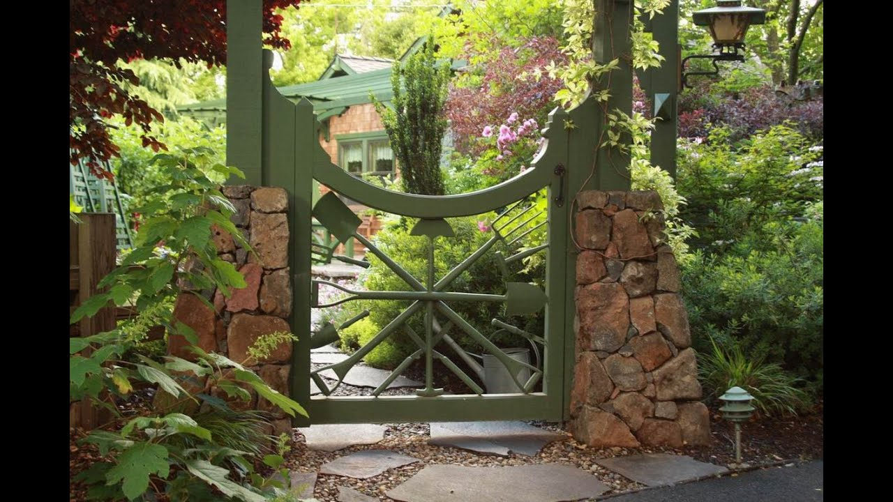 Garden Gate Garden Gate Wrought Iron YouTube