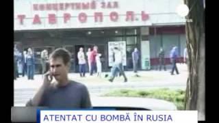 ATENTAT CU BOMBA IN RUSIA.