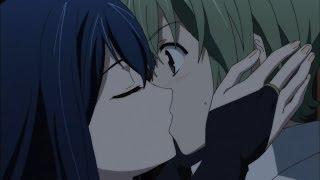 Gokukoku no Brynhildr Episode 13 [極黒のブリュンヒルデ]: Kuroneko Kisses Ryouta