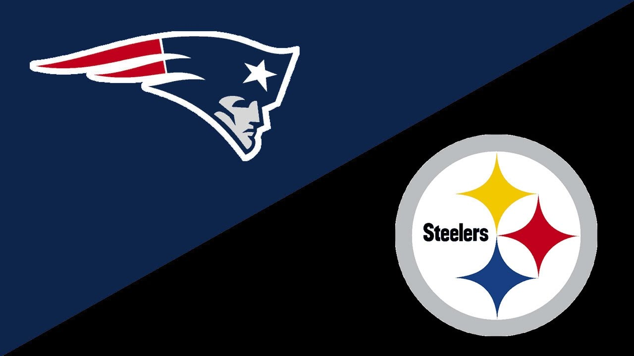 Image result for New England Patriots vs. Pittsburgh Steelers