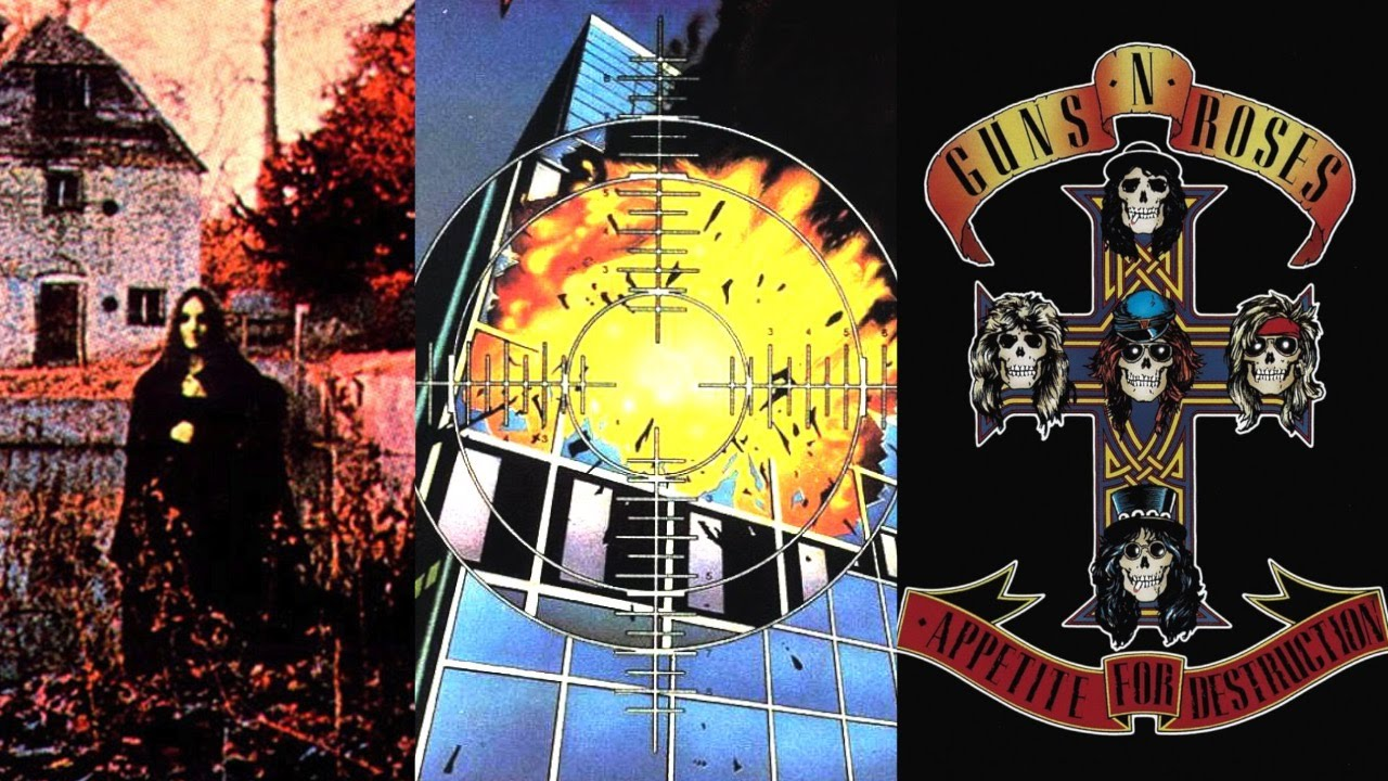 latest hard rock albums