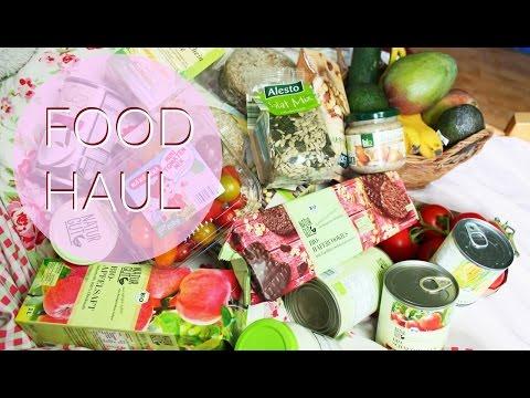 FOOD HAUL   bio und vegan bei Penny, Lidl, dm & Edeka   Erdbeerliese