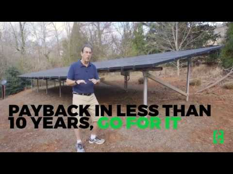 Solar panels could save you a ton