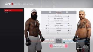Mark Hunt vs Kimbo Slice Online Match  EA SPORTS™ UFC® 3