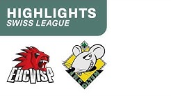 Visp vs. Olten 3:4 n.V. - Highlights Swiss League
