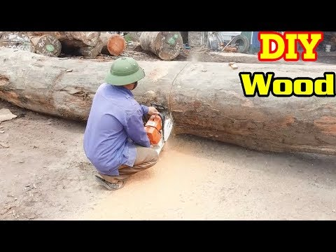 How to share wood with the fastest machine | DIY Wood