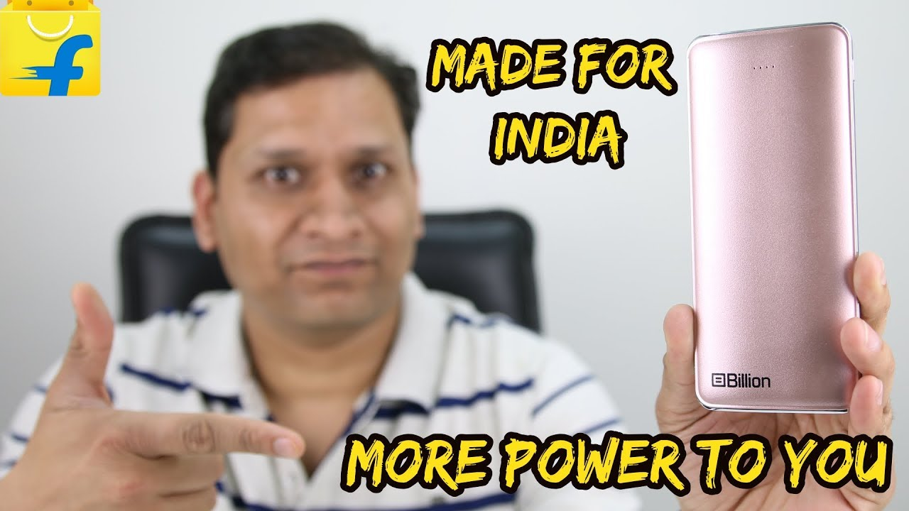 Billion Powerbank | Rapid Charge | Slim & Lightweight | Must have device