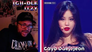 Download (G)I-DLE x ITZY - DIVA Stage REACTION   THE ONE THAT THEY CALL QUEEN!!!