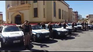 Homenagem em Divinópolis ao cabo da Polícia Militar Marcos Marques da Silva