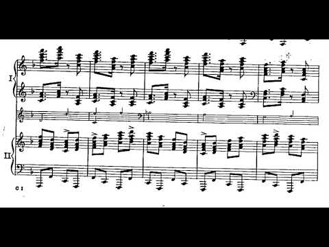George Gershwin - Concerto In F For Piano And Orchestra (1925) [Score-Video]