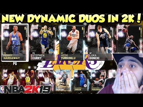 2K ADDED SO MANY NEW DYNAMIC DUOS IN NBA 2K19 MYTEAM thumbnail