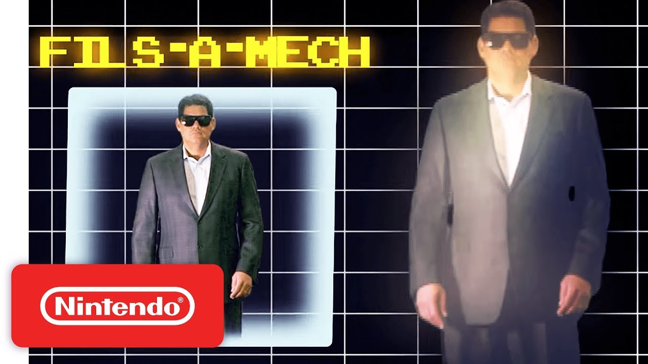Στην πρώτη E3 του Reggie, τον περάσανε για ... σεκιουριτά!