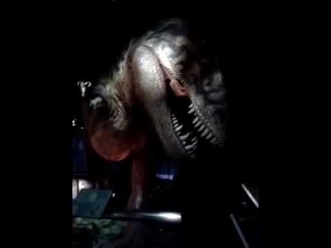 Singing dinosaur at Diorama Petronasains