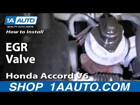 How to Replace EGR Valve 95-97 Honda Accord