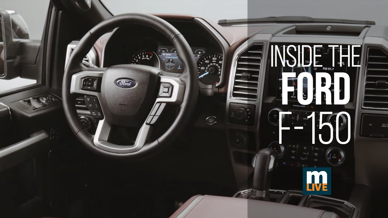 2018 Ford F150 Interior >> Interior Shots Of The 2018 Ford F 150