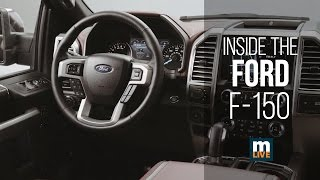 Interior Shots Of The 2018 Ford F-150