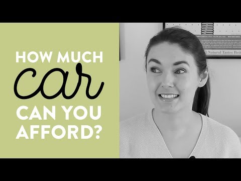 How to Afford a Car: Three Simple Rules to Figure It Out