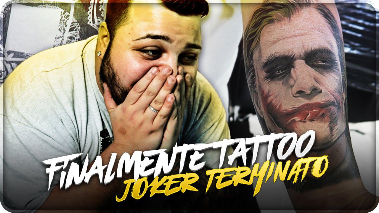 Eccezionale FINALMENTE TATTOO JOKER TERMINATO !!! - YouTube GM81