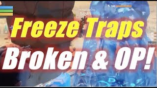 Freeze Traps Broken & OP! / Fortnite
