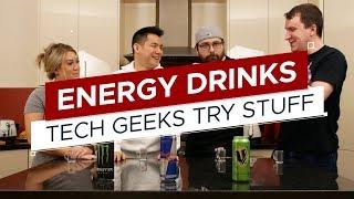 Taste Test: Energy Drinks (What is V?) | TGTS S3E4