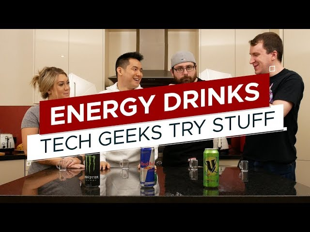Taste Test: Energy Drinks (What is V?) | TGTS S3E4