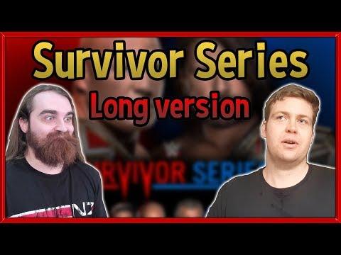 Royal Ramble w/ MDB & Gabriel Morton - Survivor Series 2017 - Long Version