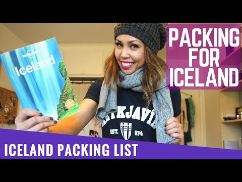 ICELAND TRAVEL GUIDE - What To Pack for ICELAND