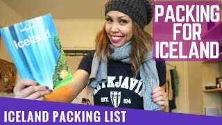 ICELAND TRAVEL GUIDE - What To Pack for ICELAND | Vlog 064