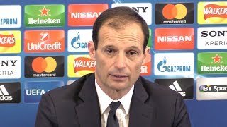 Tottenham 1-2 Juventus (3-4) - Massimiliano Allegri Post Match Press Conference - Champions League