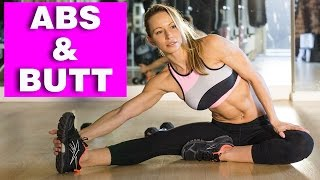 Bunny Slope Workout #7 - ABS & BUTT