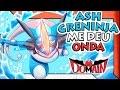 BOX ASH GRENINJA EX DEU ONDA