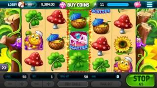 Slotomania $ LADYBUG LOOT 🎰 Android Gameplay Vegas Casino Slot Jackpot Big Mega Wins Spins