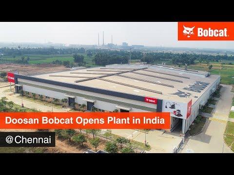 Doosan Bobcat India Factory